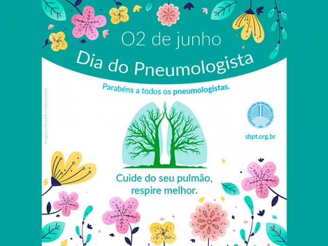 Dia do Pneumologista é comemorado em 2 de junho